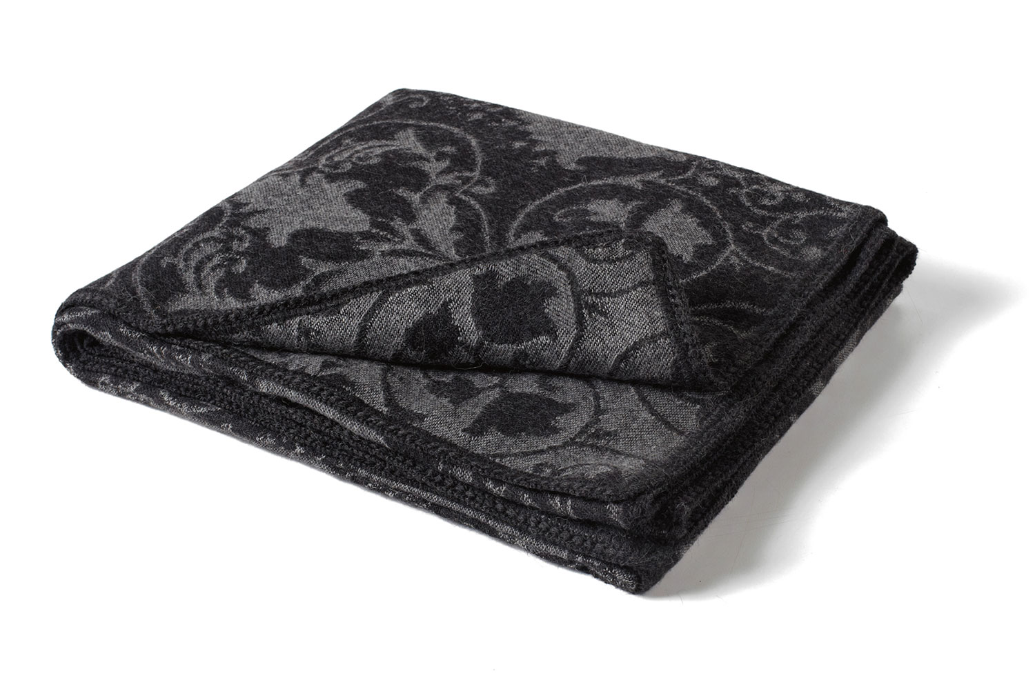 Toile Gray Alpaca Throw