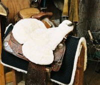 Full Western Saddle Seat Cover