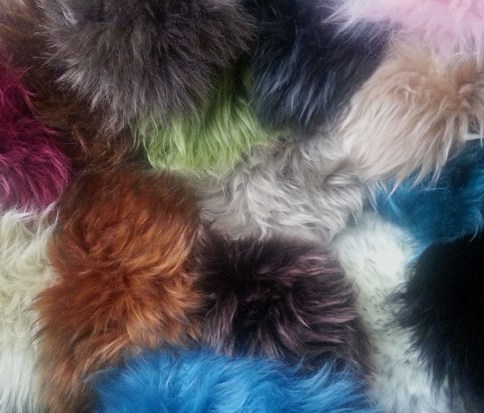 Auskin Long Wool Swatches