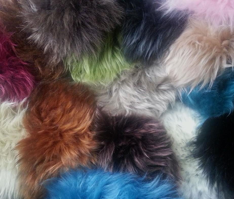Auskin Sheepskin Swatches Long Wool Ultimate Sheepskin