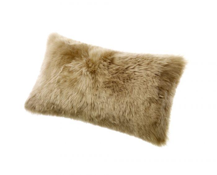 Sheepskin Kidney Pillow Taupe