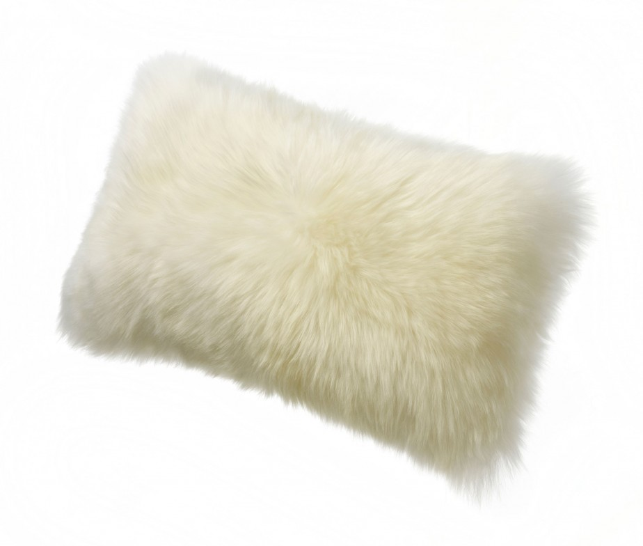 Sheepskin Throw Pillows