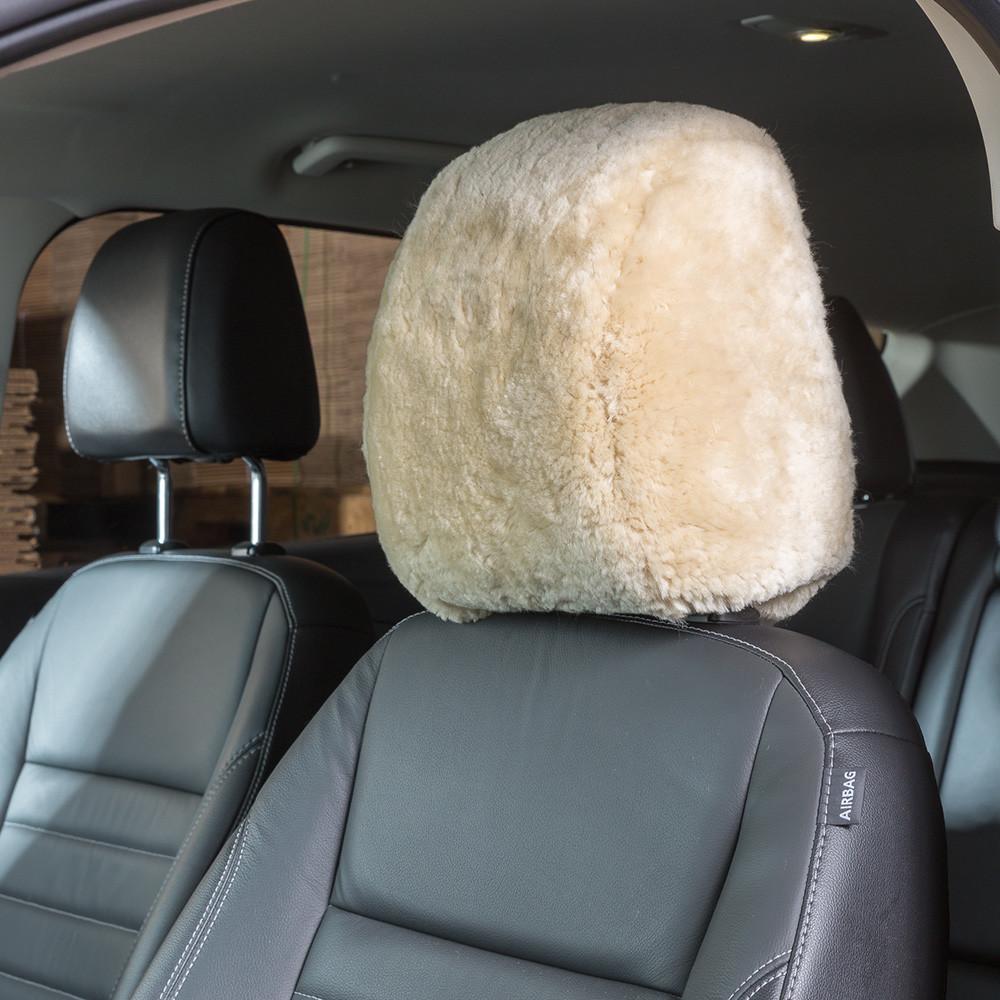 Custom Sheepskin Headrests