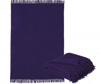 Purple Alpaca Throw