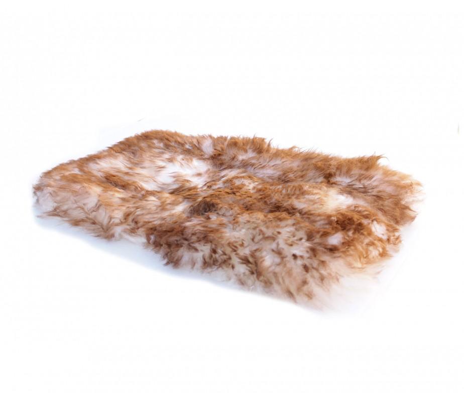 sheepskin pet dog bed pad mat rectangle large | ultimate sheepskin