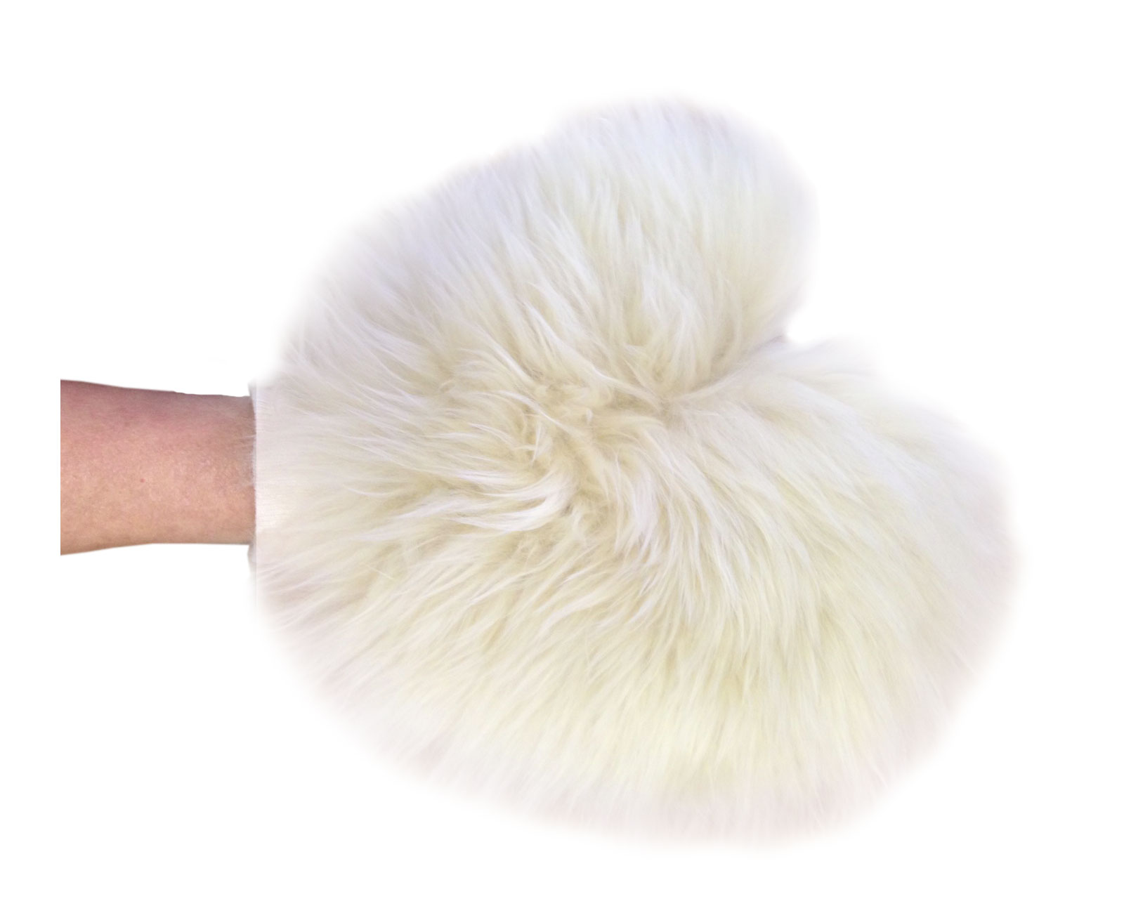Wool Duster Mitt