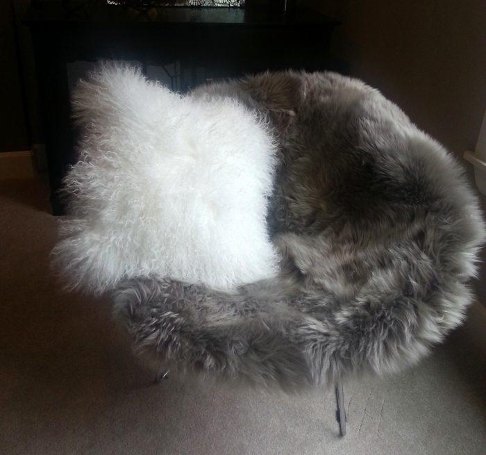 Bertoia Chair Cover Vole Gray