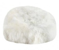 Tibetan Lambskin Bean Bag Chair