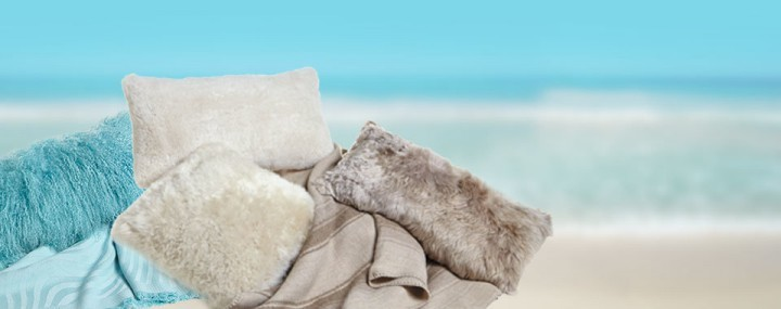 Sheepskin Rugs Pillows and Throws