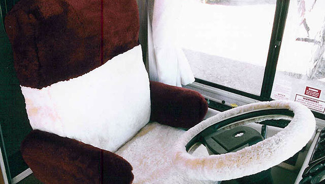 rv sheepskin seat covers