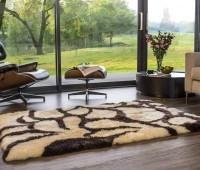 Bowron Sheepskin Rug Long Wool Baroque