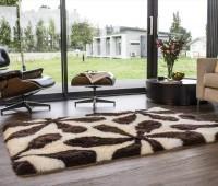 Long Wool Sheepskin Area Rug Penny Lane