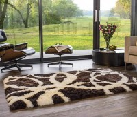 Long Wool Sheepskin Area Rug Traverse