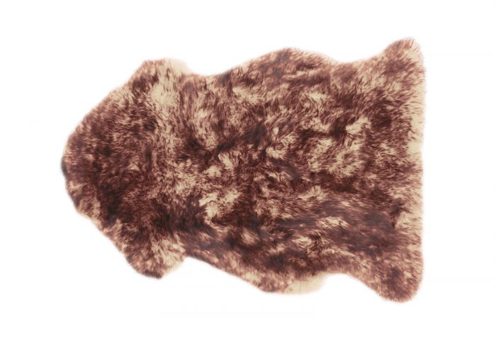 Alder Brown Sheepskin Rug