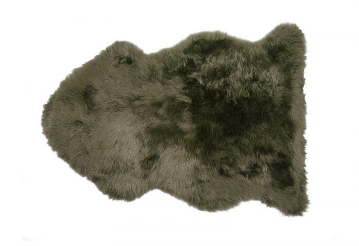 Moss Green Sheepskin Rug