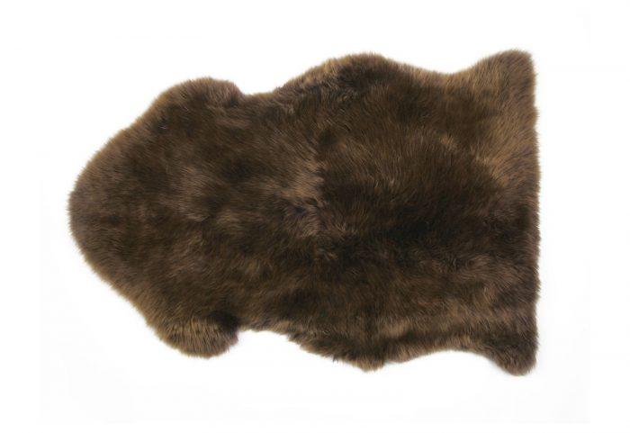 Morchella Brown Sheepskin Rug Single Pelt Auskin