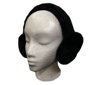 Sheepskin Ear Muffs Black