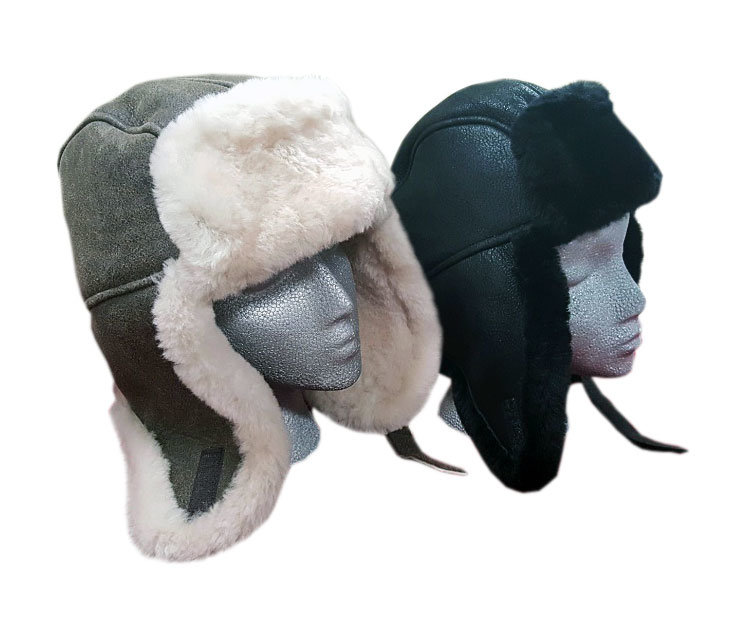 Sheepskin Trouper Hats