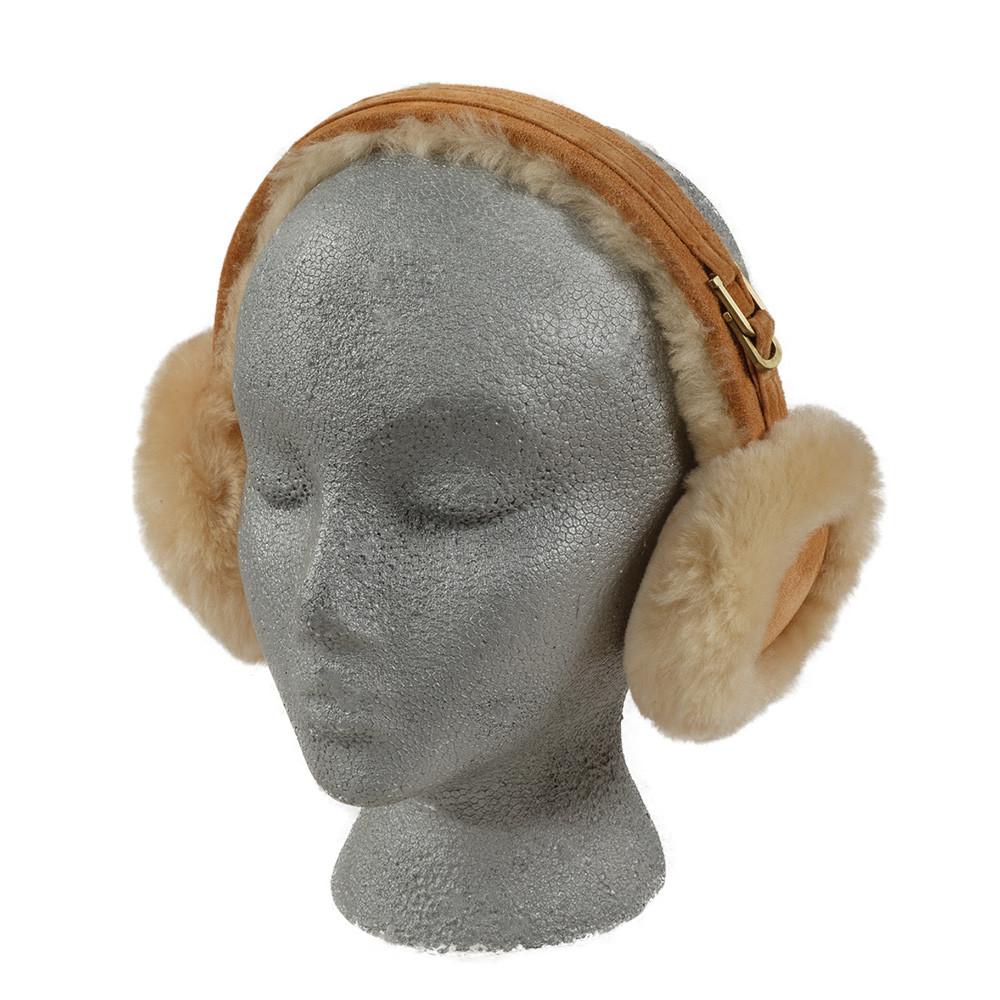 Tan Sheepskin Earmuffs