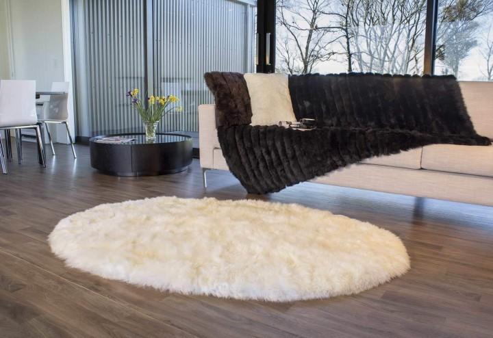 oval sheepskin rug