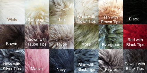 Long Wool Colors