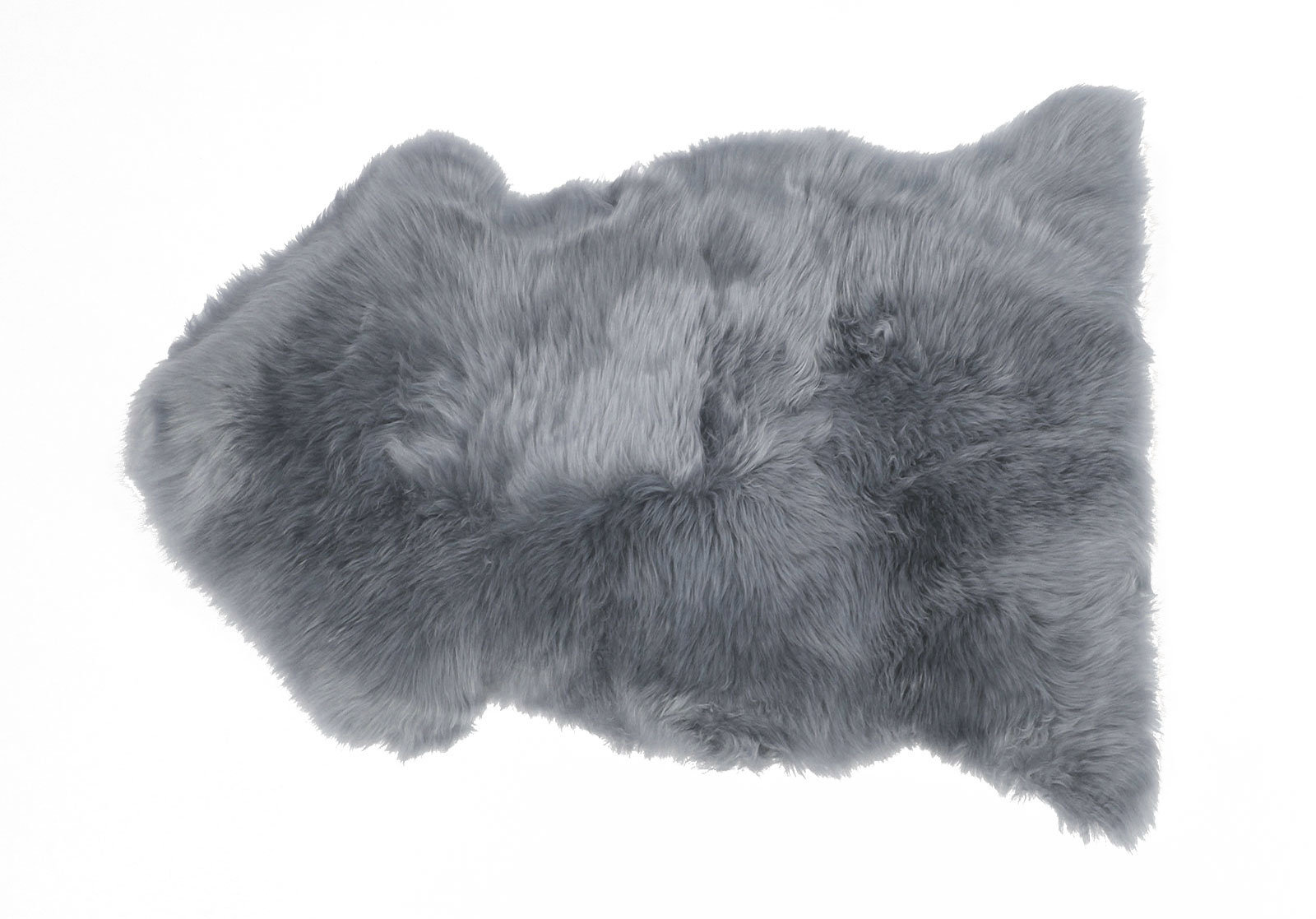 Platinum Gray Sheepskin Rug