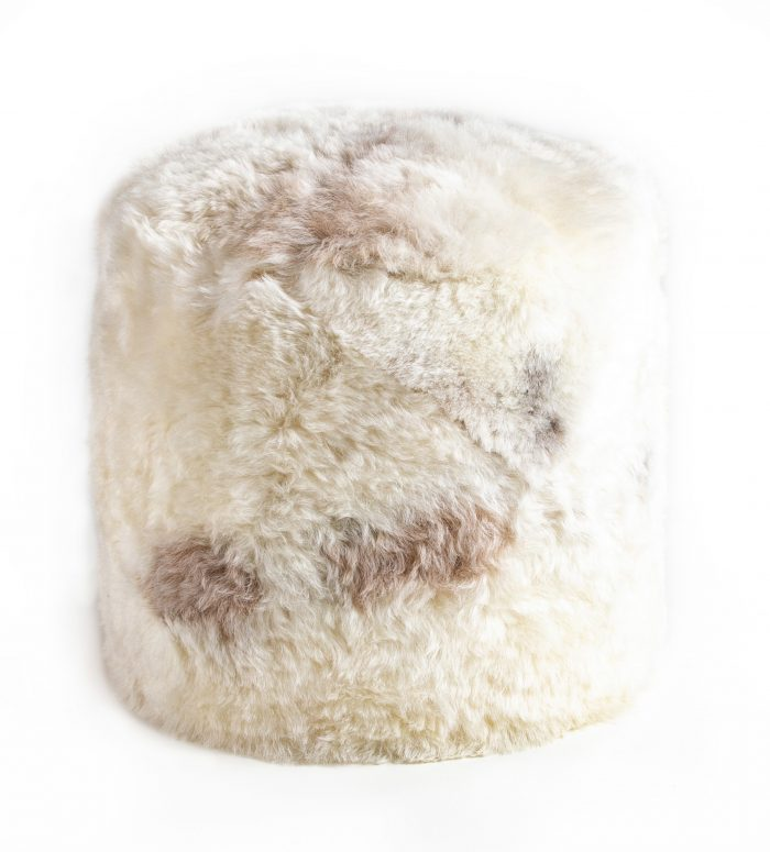 Natural Melange Stump Shorn Icelandic Sheepskin